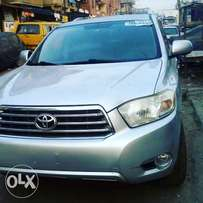 Toyota Highlander 2008 Model