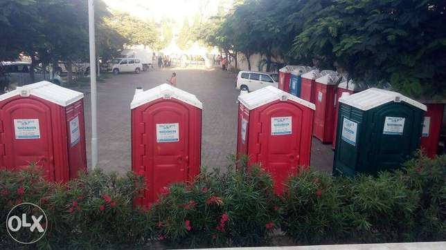Mobile Toilets for Hire and Sanitation services Mombasa. Mombasa Island - image 1