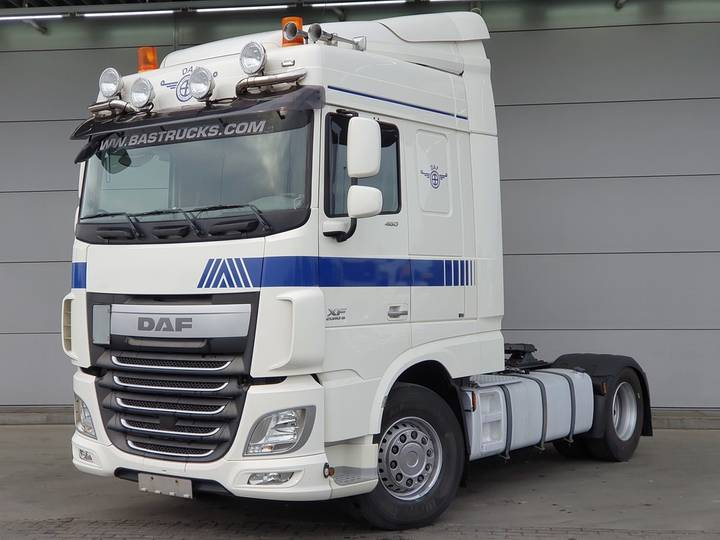 DAF XF 460 Space Cab 2 Tanks E6 / Leasing - 2014