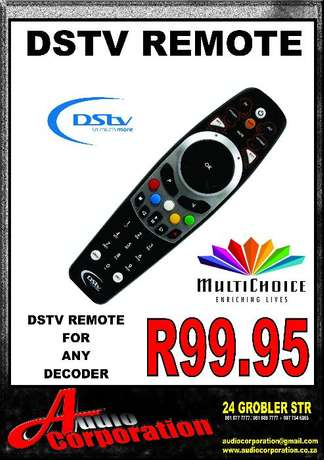Audio Corp: Remote For All Decoders Polokwane - image 1