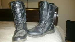 Motorbike boots male and female