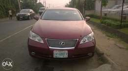 Neatly Registered Lexus ES350