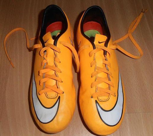 e6bbdfc2d korki, buty piłkarskie NIKE Jr Support MERCURIAL 35 Leszno - image 1