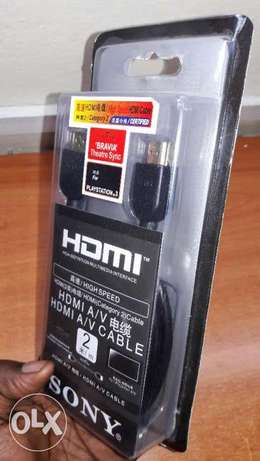 Original HDMI CAbles for Ps3,Ps4,Ps4 Pro Nairobi CBD - image 1