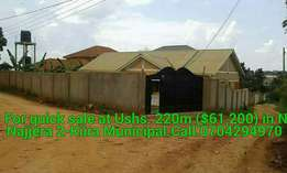 For sale with title in Najjera 2-Kiira Municipality