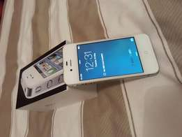 Apple iphone 4 white and silwer for sale9