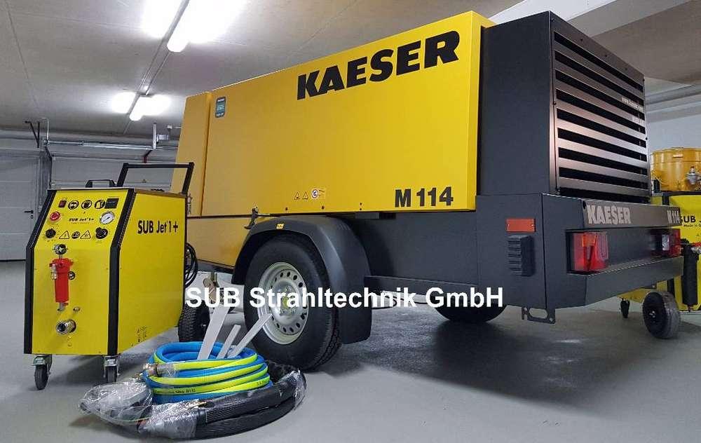 Sub Jet 1+ Trockeneisstrahlanlage Kaeser M114 - 2017