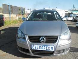 Vw Polo 1.6 2007 Model with 4 Doors, Factory A/C and C/D Player