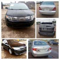I have the following tokunbo cars for cheapest price