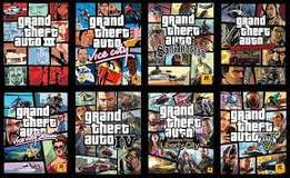 full call of GTA collection for pc + delivery