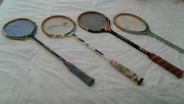 Price drop Squash rackets all for R 185