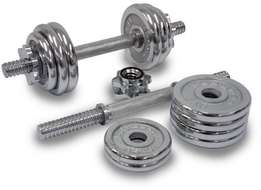Chrome Dumbbell set 50KG