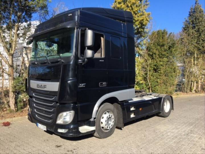 DAF XF 105.460 Super Space Cab Navi / Leasing - 2015