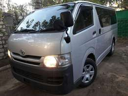 Toyota Haice 5 Speed With Dual Air Condition Just Arrived