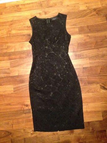00cb2c618a Czarna ołówkowa obcisła elegancka sukienka Mohito rozmiar 36 Świnoujście -  image 1
