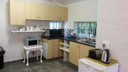 Serviced One bedroom furnished upstairs garden flat in Vincent