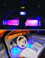 4 LED Car Interior Decorative Floor Dash Light Lamp Car 4 in 1