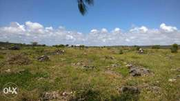 Prime splendid 50 by 100 plots kanamai Majengo area asking 2.7M