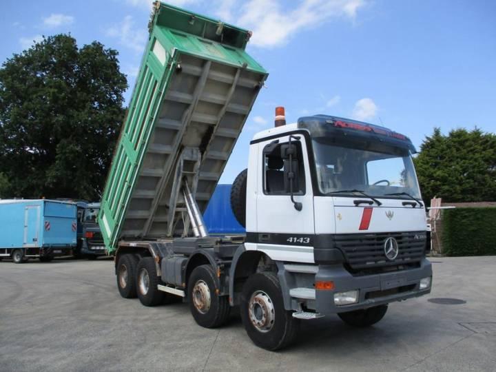 Mercedes-Benz 4143 K 8X4 'Heavy Loader' VIBE 3S kipper - 2000