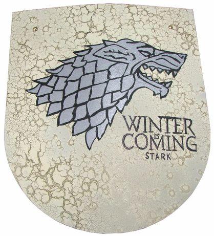 Ozdobna Tarcza Gra O Tron Games Of Thrones Winter Is Coming