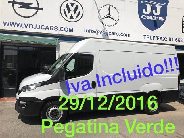 Iveco Daily Furgón 35s12 V 3520h2 10.8 116 - 2017