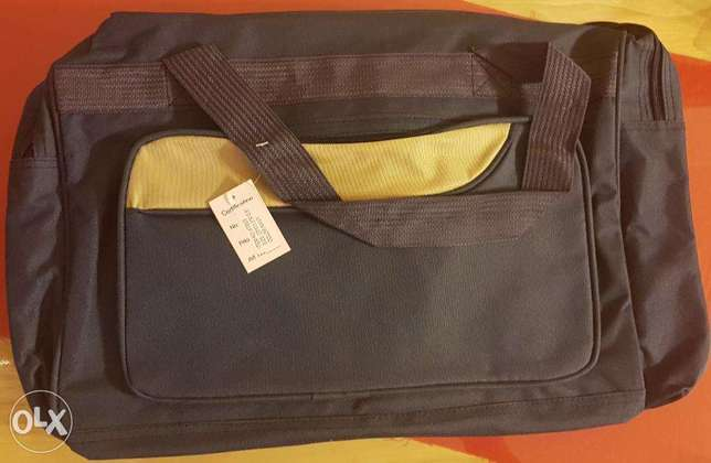Hand Bag Navy Blue New