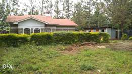 Quick sale - Sagana; One acre with a 3 bedroom house for Kshs. 4.5M