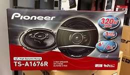 Pioneer TS-A1676R 320 watts 50 watts RMS high end 6 inches speakers