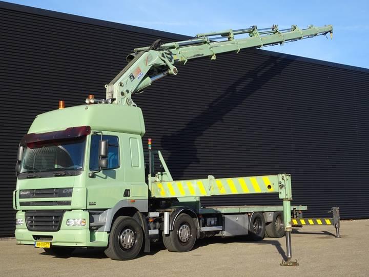 DAF CF 85.430 8x2 / HIAB 800-7 CRANE KRAN - 2006