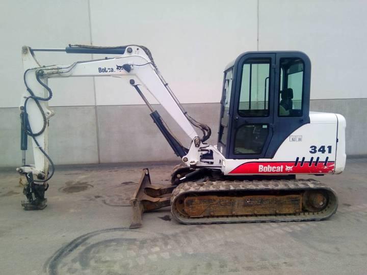 Bobcat 341 D - 2001