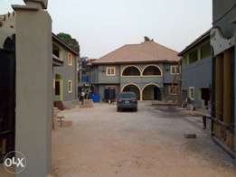 Mini estate lodge at enugu with over 25 self contains sales at N80m