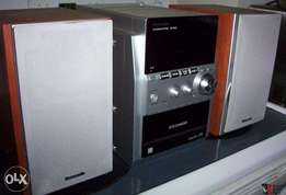 Panasonic 5 CD stereo system