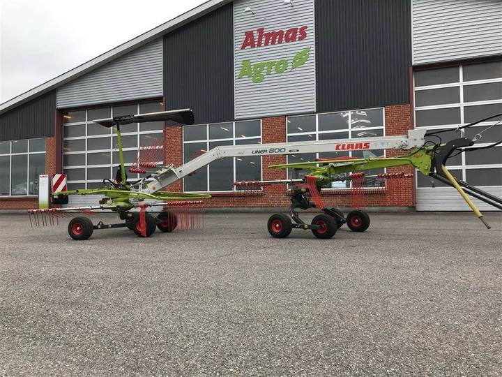Claas Liner Fabriksny 800 Twin - 2019