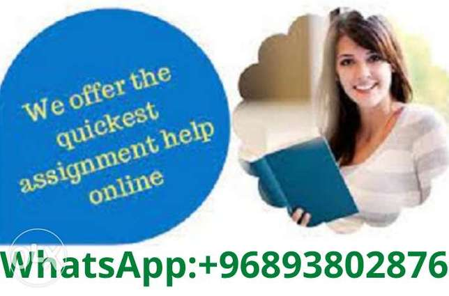 Assignment writer for different subjects available in k