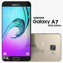 Samsung Galaxy A7 (2016) 3GB-16GB ROM,Brand new,Warranted,Free glass