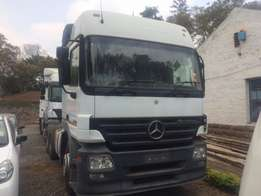 Mercedes Actros Head Trailer Double Diff Manual Auto