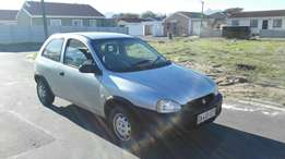 Opel corsa 1.4I good condition 1 owner low kilos for R34 500 neg