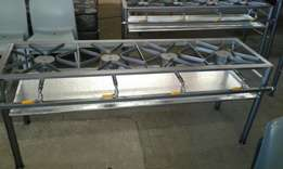 4 burner boiling table