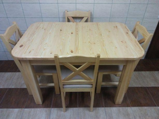 Stół Krzesła Sosnowe Meble Kuchenne Do Jadalni Salonu