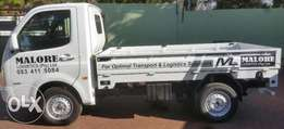Professional Transport / Delivery Services (1 Ton Bakkie Hire)