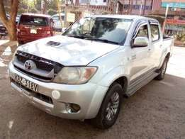 2007,Hilux Double Cab slightly used.