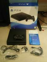 PS4_Slim Jet Black New In Box With receipt