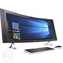 Envy Curved 34-A010 All-in-One Desktop PC