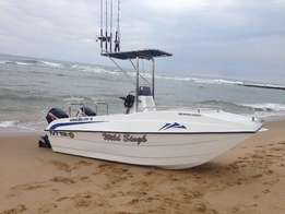 Sodwana cat 16ft forward or centre console