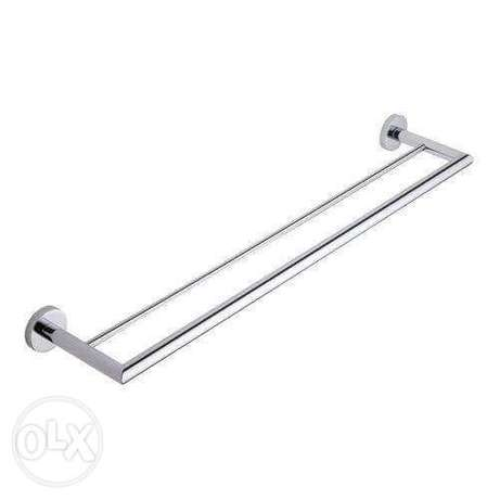 Stainless steel double towel rod City Square - image 1