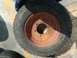 Baby truck rim and tyre with very good life