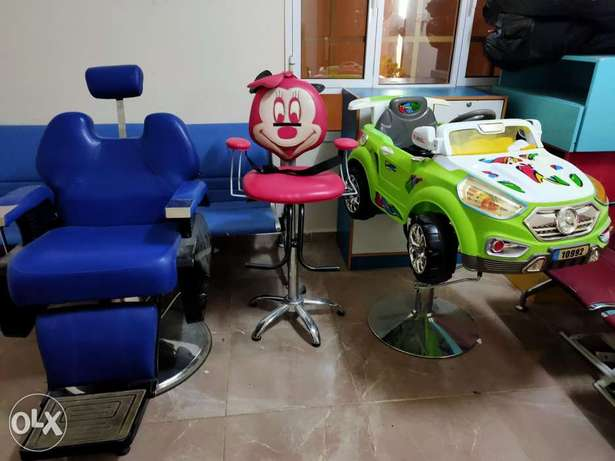 Barber Shop and Kids Saloon equipment for sale