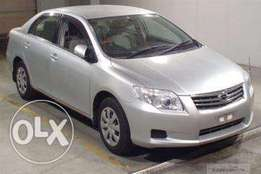 Toyota corolla axio, new model 2011 fully loaded, finance terms accept