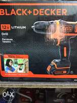 Medium duty 12v cordless drill with rechargeable battery