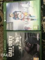 Xbox one FIFA 16 and call of duty ghost to swop/sell